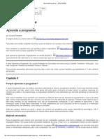 Aprenda a Programar - PythonBrasil