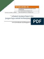 Konfigurasi InterVLAN Dengan Packet Tracer v5.3