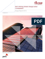 CDP Global 500 Climate Change Report 2013 © 2013 Carbon Disclosure Project