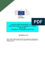 Twinning Manual 2012
