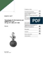 Tecnologia Di Informazione Per SIMATIC S7 Con CPs S7