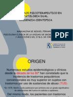 Intervencion Psicopatologica en Patologia Dual