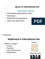 2 Subjects of International Law