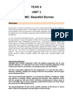 Year 4 Unit 1 SOW Programme 2013 - Beautiful Borneo