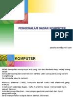 Pengenalan Komputer Simple Version