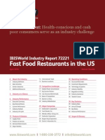 72221 Fast Food Restaurants in the US Industry Report