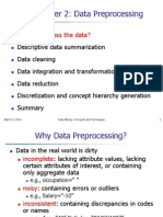 Dw Data Preprocessing