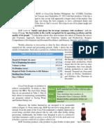 Coca Cola Paper Operations Management