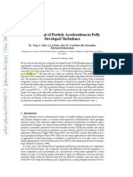 Measurement of Particle Accelerations in Fully Developed Turbulence