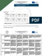 Self-Assessment Form Ianus