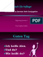Beginning German