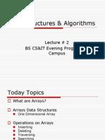 DataStructure - Arrays
