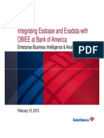 Oracle Hyperion Users Group Presentation - Bank of America