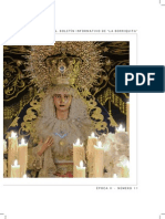 Boletín La Borriquita Cuaresma 2014