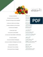 DEUTSCH Früchte und Lebensmittel