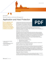 Application and Host Protection