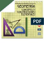 Geometria Conceptos y Construcciones Elementales