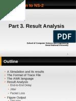 3 Analysis(Easier Awk)