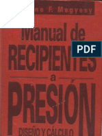 Pressure Vessel - Manual de Recipientes a Presion-Megyesy