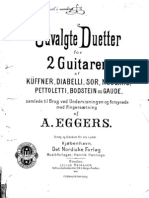 Duetter for 2 Guitarer (Diabelli Sor Pettoletti Etc) (Guitar Duo - Chitarra)