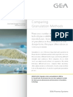 Compare Granulation Methods
