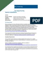 PhD Scholarship2014