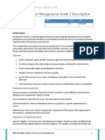 TEMPLATE ITIL Grade 1 D1 Service Level Mgmt