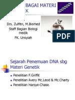 DNA Sbg Materi Genetik