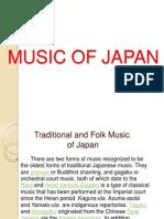 Music of Japan