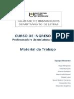 Bloques 1 y 2. Material Curso de Ingreso 2014. Letras (2)