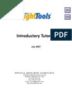 LightTools IntroTutorial