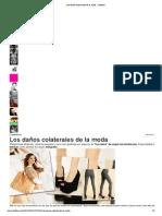 Los daños colaterales de la moda - Infobae