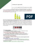 Concentraciones quimica