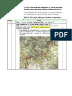 Országos Kéktúra útvonal módosítások tervei 2014. február