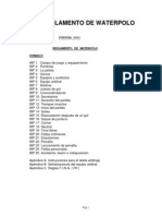 Reglamento de waterpolo 05-09