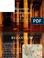 Byzantine Architecture REPORT