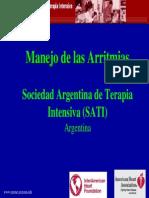 Manejo de Las Arritmias-SATI