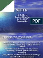 Water Planning