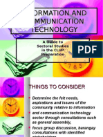 Information and Communication Technology-planning