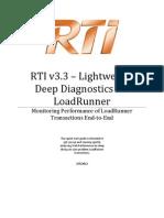 RTI Enable Loadrunner