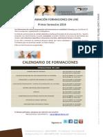 Formacion on Line Primer Semestre 2014