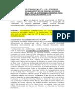 JURISPRUDÊNCIA DO STF 2012 DECISÕES E RESPECTIVO RESUMO