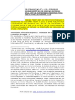 JURISPRUDÊNCIA DO STF 2010 DECISÕES E RESPECTIVOS RESUMOS