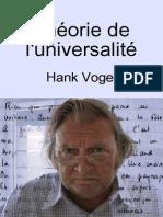 Théorie de l'universalité