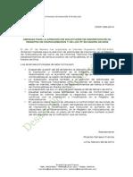Medidas para la atención de solicitudes de inscripción en el Registro de Hidrocarburos así como de los Informes Técnicos Favorables (ITF) en Madre de Dios