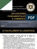 APLICACIONES FUNDAMENTALES DEL E-COMMERCE