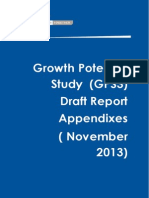 Growth Potential Study (Gps3) Report Appendixes