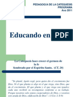Educando en La Fe Catequistas.