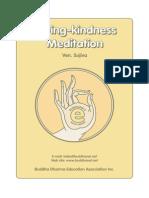 Loving Kindness in Meditation
