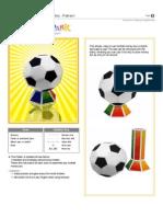 Papercraft Soccer